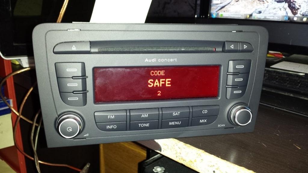 Audi Concert Radio Code