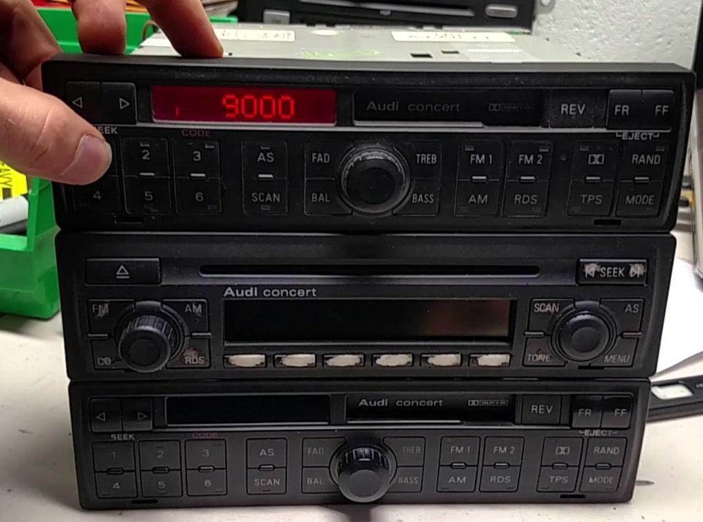 Audi Concert Radio